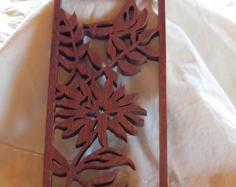 Floral Fretwork Trivet