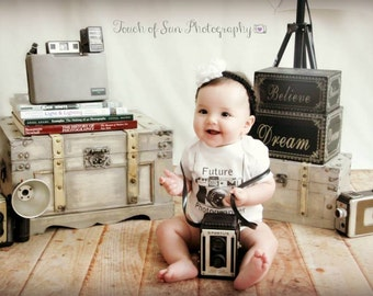 Future Photographer Baby Bodysuit by Simply Baby