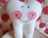 TOOTH FAIRY PILLOW (soft pink)