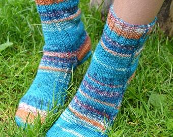Lovely turquoise socks