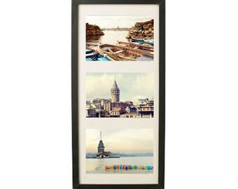 Any 3 5x7 photography prints, Wall Decor, Sale,  Photo collection, New House Gift, Housewarming, galata, kızkulesi
