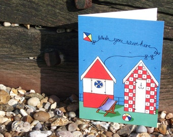 Wish You Were Here Greetings Card
