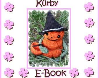 """E-book - crochet pattern - pumpkin """"Kürby"""" GERMAN - GERMAN ONLY"""