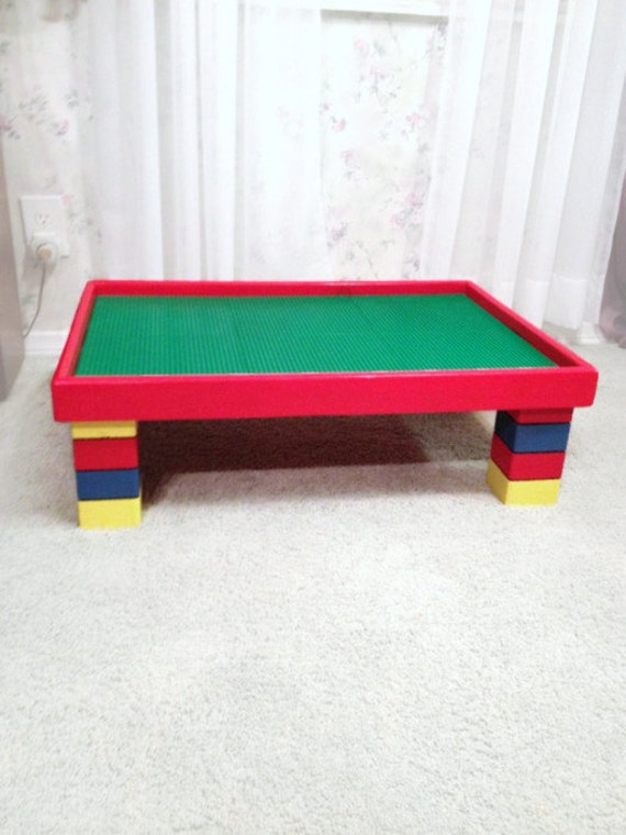 Large Activity Table For Kids   Lego Table   20x30x10 Childrenu0027s Playroom  Furniture   Childs ActivityTable