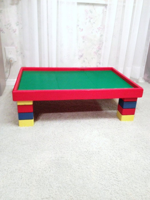 large activity table for kids lego table 20x30x10. Black Bedroom Furniture Sets. Home Design Ideas
