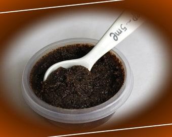 Coffee-sugar body scrub