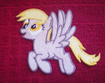 Embroidery Iron-on Patch MLP Derpy