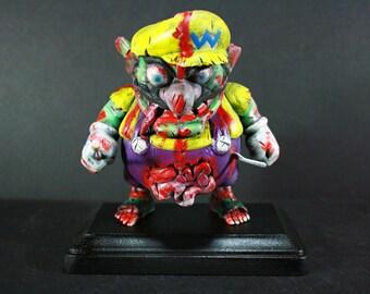 Custom Zombie Wario Figure by Kodykoala