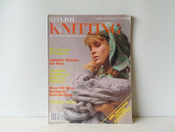 Top Knitting Pattern Books : Vintage Knitting Patterns Stylish Knitting Book Top