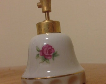 Vintage DeVilbiss Porcelain Perfume Bottle Atomizer