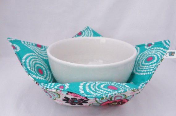 Microwave Soup Bowl Cozy Pot Holder