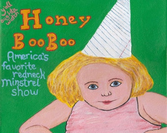 Honey Boo Boo art print