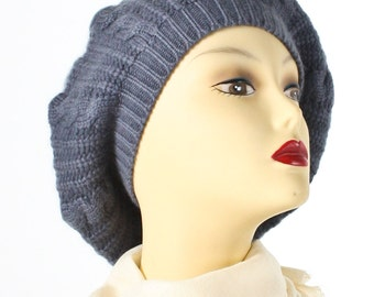 Grey Cia Cashmere Hat