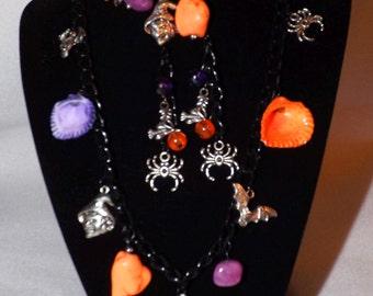 Halloween Necklace Set