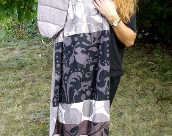 Baby ring Sling/Baby Sling/Baby Carrier/Reversible Baby Sling/Baby Wrap/Black,White,Beige/Cotton Sling