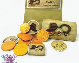 Treasure Hunter Party Kit - Indiana Jones Inspired party