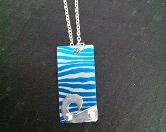 Sea and wave pendent