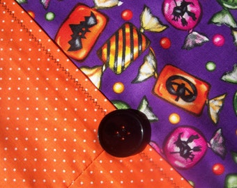 Table Runner -  Halloween Candy and Polka Dots