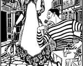 FW261 - Paris Promenade Dress Sewing Pattern by Folkwear