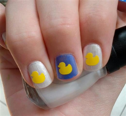 Rubber Duck Nail Art Decal Stickers