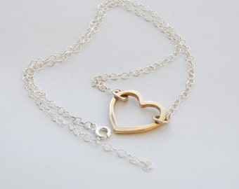 Heart Necklace / Handmade Necklace