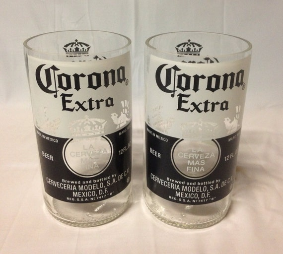 Items similar to corona beer bottle tumbler drinking for How to make corona glasses