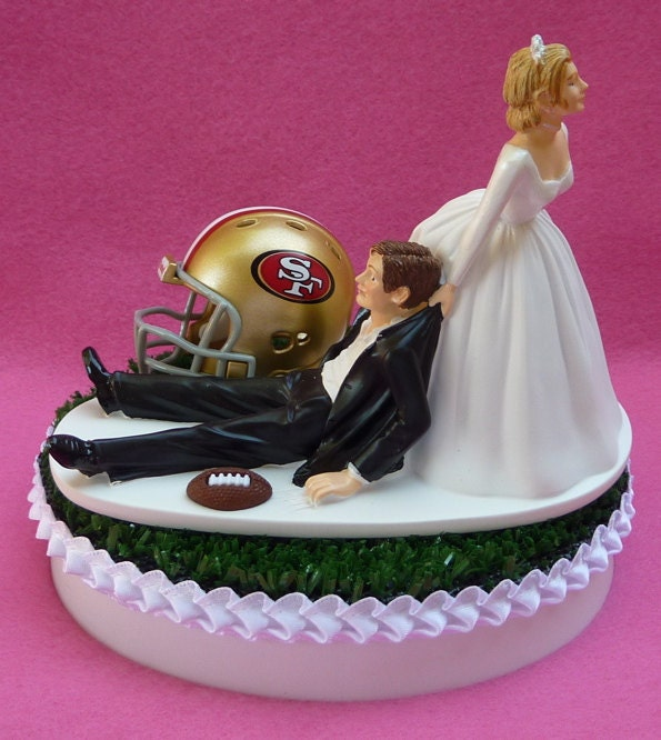 wedding cake places in san francisco wedding cake topper san francisco 49ers sf football themed 23491