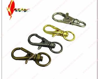 2pcs  0.9*33mm dog hook  ,buckle ,bags hook wholesale   KS-128
