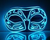 Foam EL Wire Light Up Mask, Masquerade