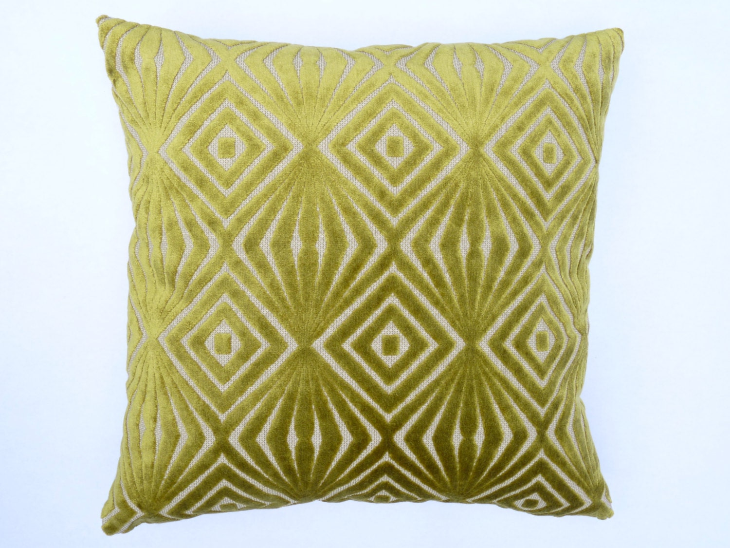 Mid Century Style Pillows : Mid Century Modern design accent Pillow 17 x 17