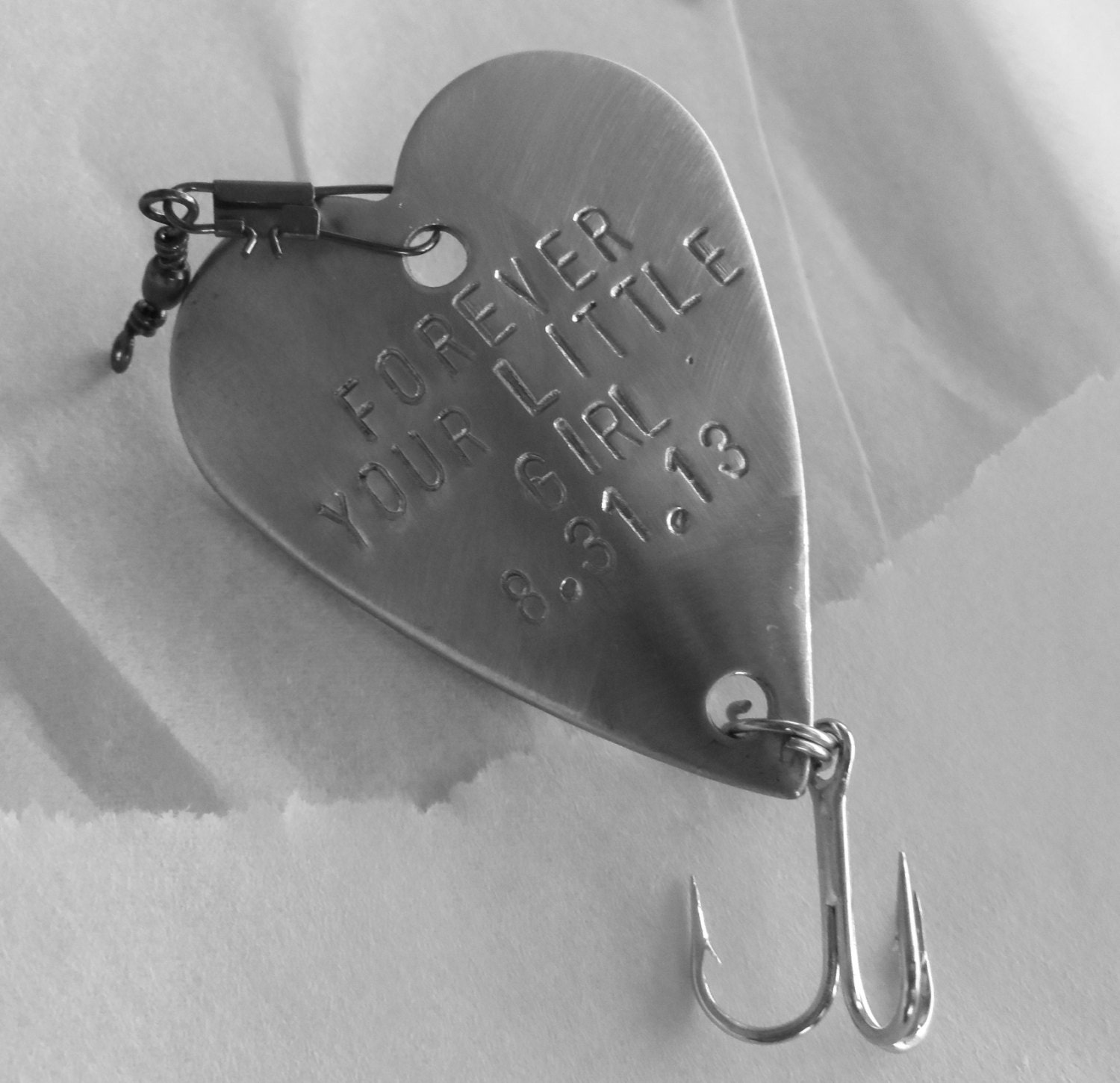 Perfect Wedding Gift For Your Daughter : Forever Your Little Girl Father of the Bride Engraved Father