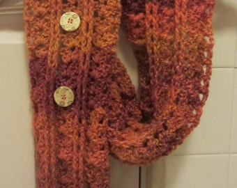 Crochet Pattern Scarf Neckwarmer Cowl Cabled Scarf Inifnity Scarf Sale