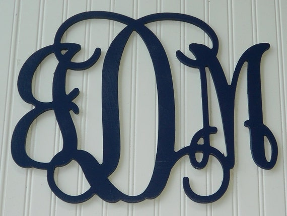 monogram letters for wall wall monogram painted letters 12 x 16 16268