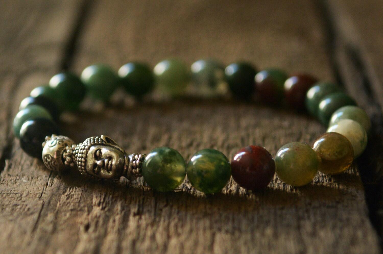 courage mens buddha bracelet jewelry tibetan jewelry