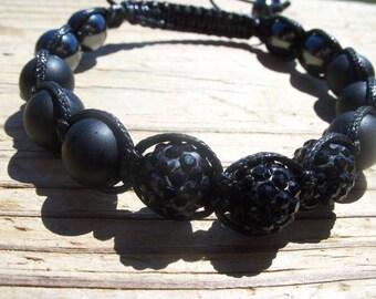 Men's Gift, Shamballa Bracelet, More choice of Colors