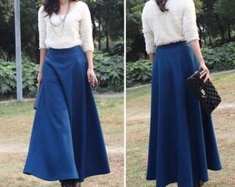 Long A Skirt