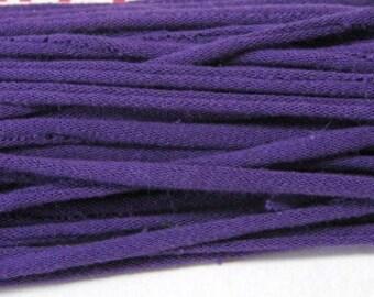 PURPLE T SHIRT YARN Tarn upcycled t shirt yarn great for crochet