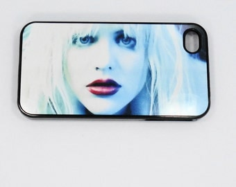 iphone 6 iphone 5 iphone 4   4s Courtney Love Rock case Samsung ipod mobile cell Phone case cover cell phone snap case black blue