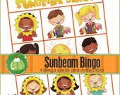 SUNBEAM BINGO - Downloadable PDF Only