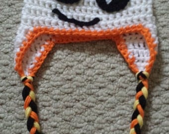 Crochet Halloween Ghost Hat for Baby or Child