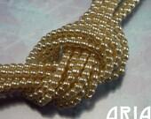 IVORY: 2mm Czech Glass Pearl Beads (150 beads per strand)