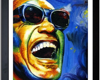 Ray Charles High Resolution Print (Epson Quality)