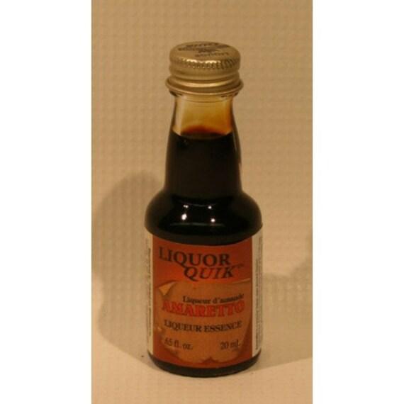 Liquor Quik Amaretto Liqueur Essence Home Distilling Flavoring 20 ml