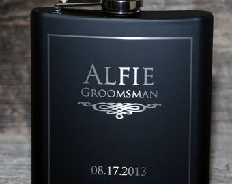 Add on to order - Engraving on both sides - 5 flasks