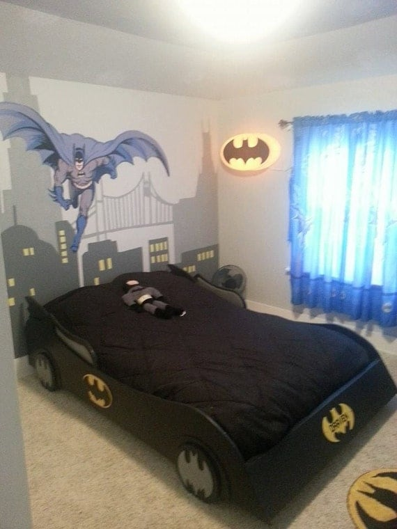 Full Size Batmobile Bed By Shortyscreations01 On Etsy