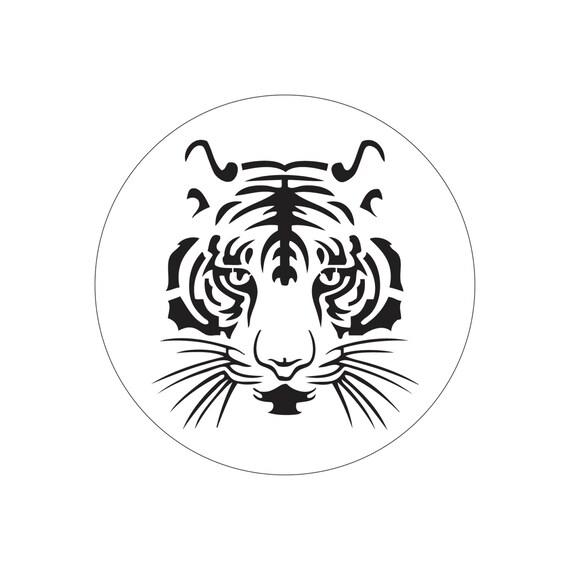 tiger cake stencil cake round stencil for cake decoration