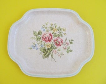 Avon Tray, Floral Tray, Vintage Tray, Serving Tray, Decorative Tray, Trays, Vintage Trays, Vintage Avon, Avon, Made in England