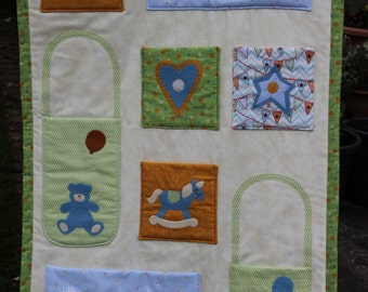 Baby's Room Wall Hanging (Boy)