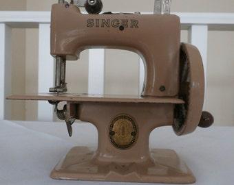 Vintage, Miniature, Singer Sewing Machine