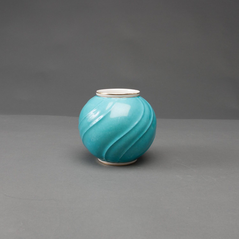 vintage vase lyngby d nischen porzellan fayence kunst keramik. Black Bedroom Furniture Sets. Home Design Ideas